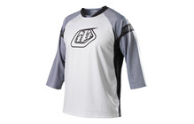 Troy Lee Designs Ruckus jersey logo blanc